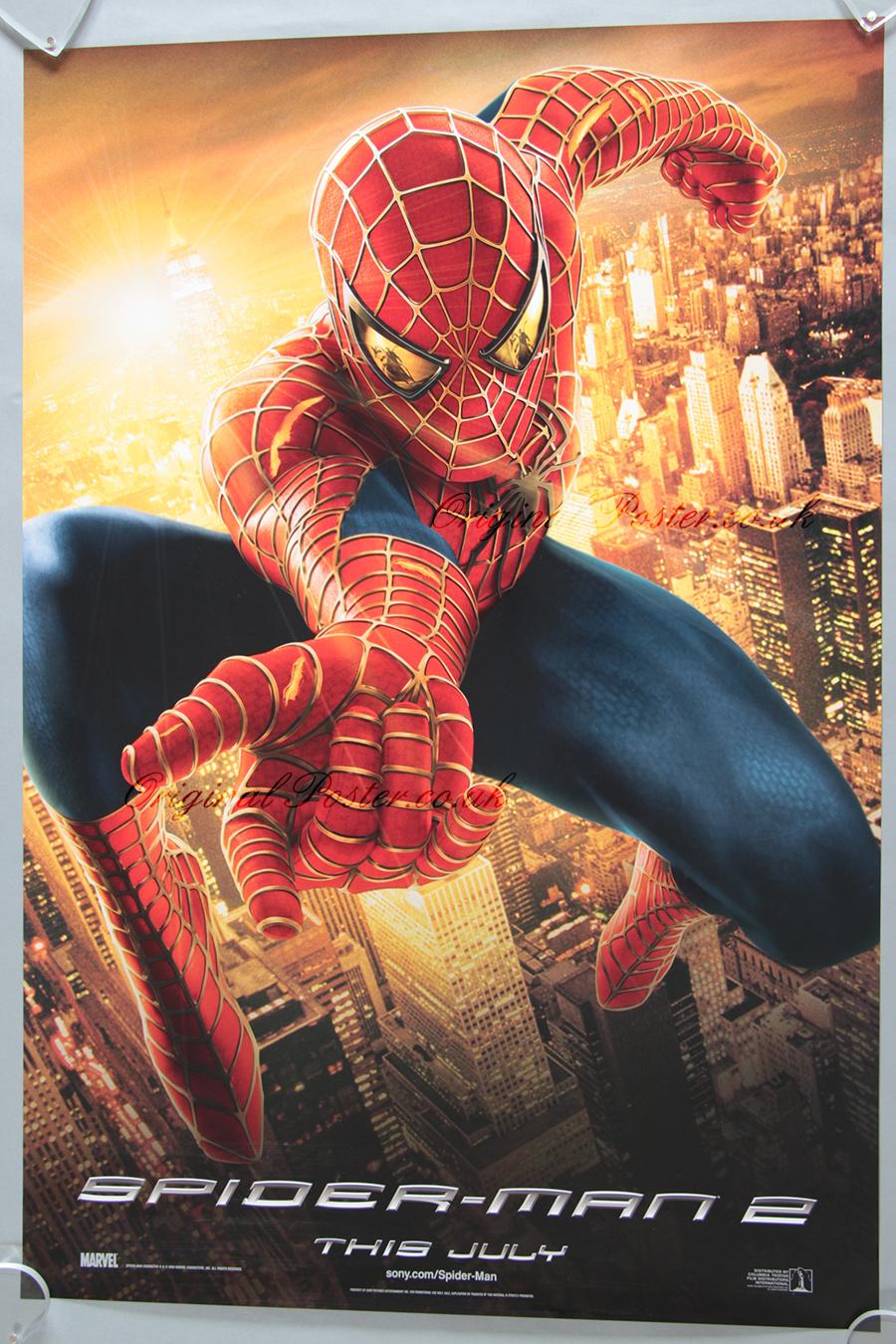 Spider Man 2 Original Vintage Film Poster
