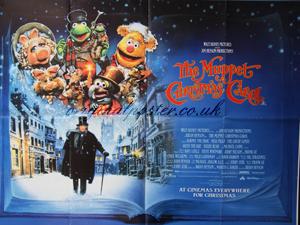 muppet christmas carol original vintage film poster