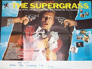 The Supergrass The Supergrass Original Vintage Film Poster Original Poster